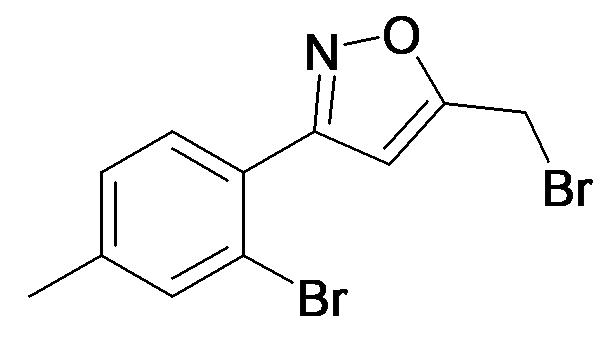 5-Bromomethyl-3-(2-bromo-4-methyl-phenyl)-isoxazole