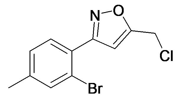 3-(2-Bromo-4-methyl-phenyl)-5-chloromethyl-isoxazole