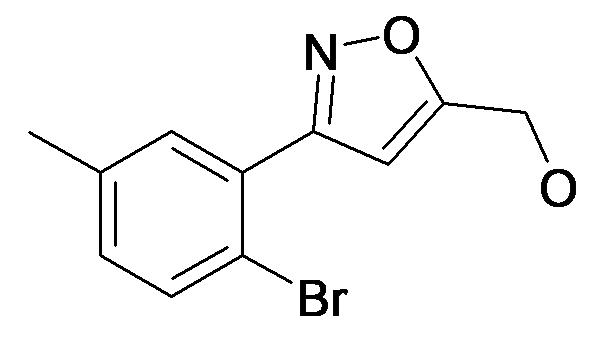 [3-(2-Bromo-5-methyl-phenyl)-isoxazol-5-yl]-methanol