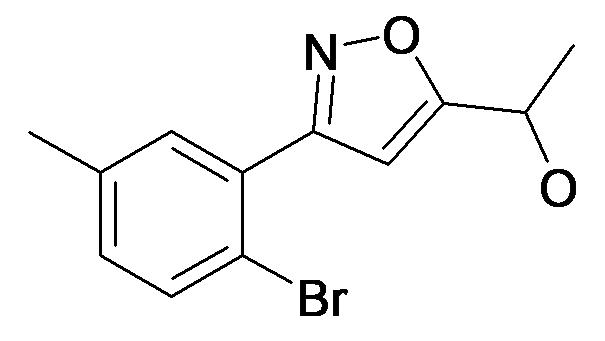 1-[3-(2-Bromo-5-methyl-phenyl)-isoxazol-5-yl]-ethanol