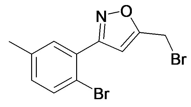 5-Bromomethyl-3-(2-bromo-5-methyl-phenyl)-isoxazole