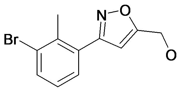 [3-(3-Bromo-2-methyl-phenyl)-isoxazol-5-yl]-methanol