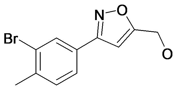 [3-(3-Bromo-4-methyl-phenyl)-isoxazol-5-yl]-methanol