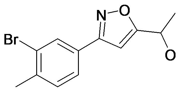 1-[3-(3-Bromo-4-methyl-phenyl)-isoxazol-5-yl]-ethanol