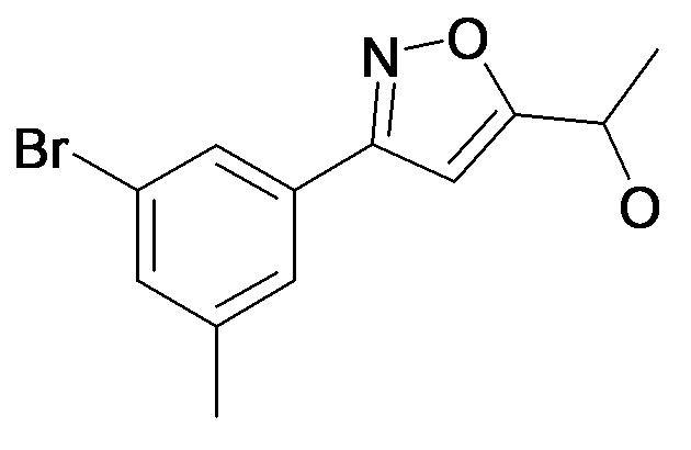 1-[3-(3-Bromo-5-methyl-phenyl)-isoxazol-5-yl]-ethanol