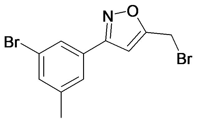 5-Bromomethyl-3-(3-bromo-5-methyl-phenyl)-isoxazole