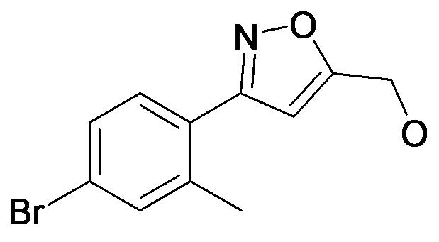 [3-(4-Bromo-2-methyl-phenyl)-isoxazol-5-yl]-methanol