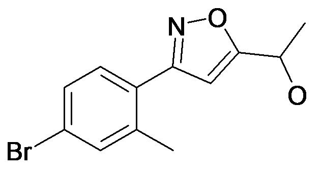 1-[3-(4-Bromo-2-methyl-phenyl)-isoxazol-5-yl]-ethanol