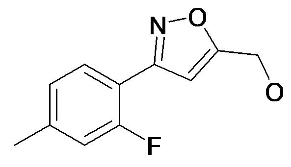[3-(2-Fluoro-4-methyl-phenyl)-isoxazol-5-yl]-methanol