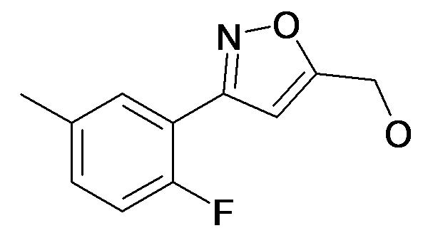[3-(2-Fluoro-5-methyl-phenyl)-isoxazol-5-yl]-methanol