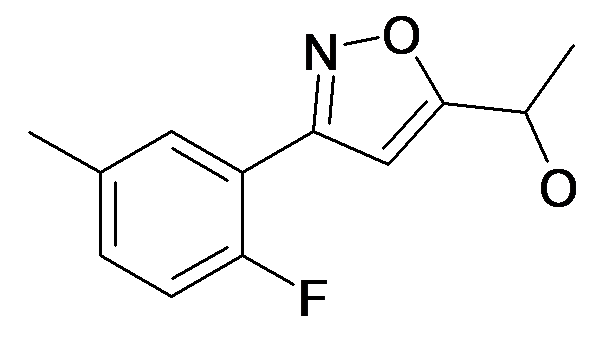 1-[3-(2-Fluoro-5-methyl-phenyl)-isoxazol-5-yl]-ethanol