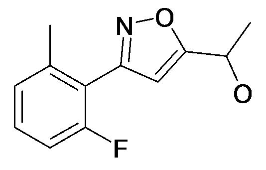 1-[3-(2-Fluoro-6-methyl-phenyl)-isoxazol-5-yl]-ethanol