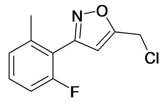 5-Chloromethyl-3-(2-fluoro-6-methyl-phenyl)-isoxazole