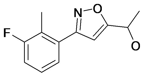 1-[3-(3-Fluoro-2-methyl-phenyl)-isoxazol-5-yl]-ethanol