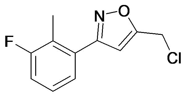 5-Chloromethyl-3-(3-fluoro-2-methyl-phenyl)-isoxazole