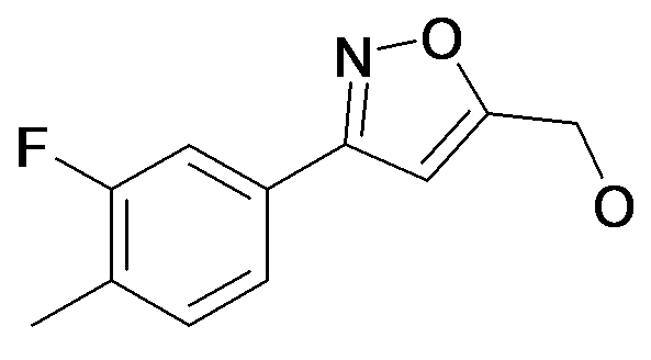[3-(3-Fluoro-4-methyl-phenyl)-isoxazol-5-yl]-methanol