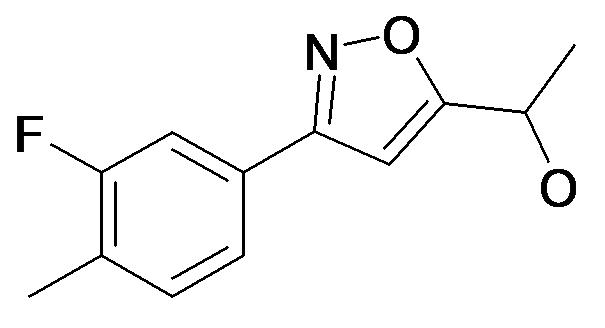 1-[3-(3-Fluoro-4-methyl-phenyl)-isoxazol-5-yl]-ethanol