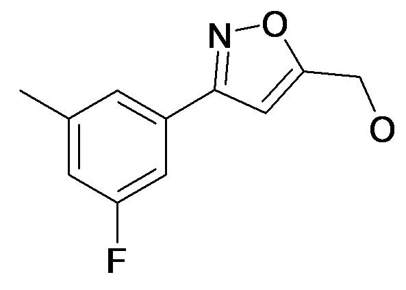 [3-(3-Fluoro-5-methyl-phenyl)-isoxazol-5-yl]-methanol
