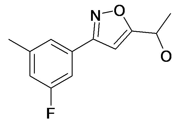 1-[3-(3-Fluoro-5-methyl-phenyl)-isoxazol-5-yl]-ethanol