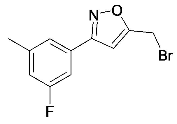 5-Bromomethyl-3-(3-fluoro-5-methyl-phenyl)-isoxazole