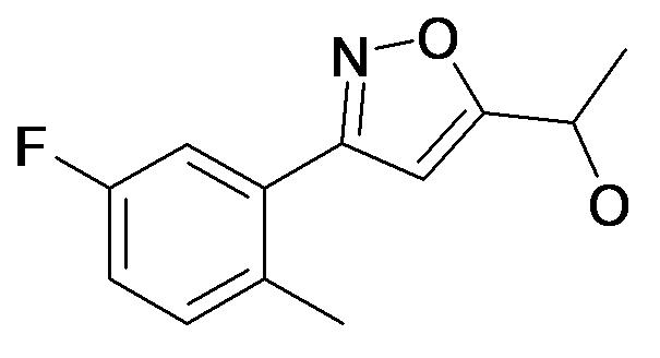 1-[3-(5-Fluoro-2-methyl-phenyl)-isoxazol-5-yl]-ethanol