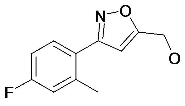[3-(4-Fluoro-2-methyl-phenyl)-isoxazol-5-yl]-methanol