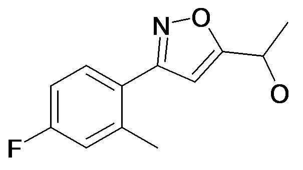 1-[3-(4-Fluoro-2-methyl-phenyl)-isoxazol-5-yl]-ethanol