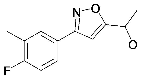 1-[3-(4-Fluoro-3-methyl-phenyl)-isoxazol-5-yl]-ethanol