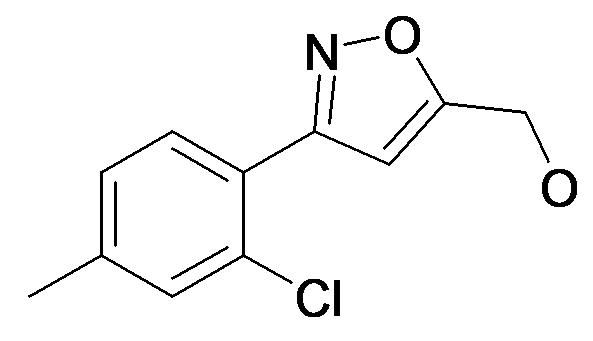 [3-(2-Chloro-4-methyl-phenyl)-isoxazol-5-yl]-methanol