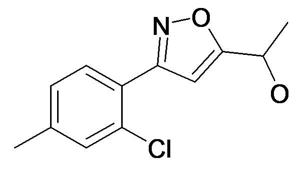 1-[3-(2-Chloro-4-methyl-phenyl)-isoxazol-5-yl]-ethanol