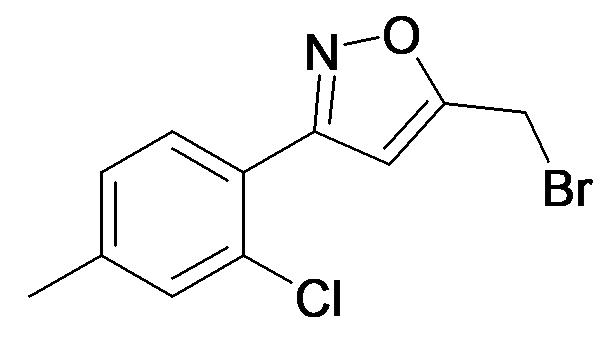 5-Bromomethyl-3-(2-chloro-4-methyl-phenyl)-isoxazole