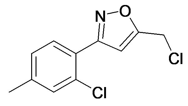 5-Chloromethyl-3-(2-chloro-4-methyl-phenyl)-isoxazole