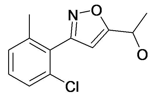 1-[3-(2-Chloro-6-methyl-phenyl)-isoxazol-5-yl]-ethanol