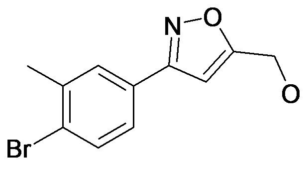 [3-(4-Bromo-3-methyl-phenyl)-isoxazol-5-yl]-methanol