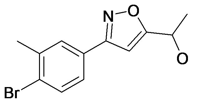 1-[3-(4-Bromo-3-methyl-phenyl)-isoxazol-5-yl]-ethanol