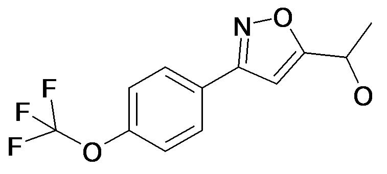 1-[3-(4-Trifluoromethoxy-phenyl)-isoxazol-5-yl]-ethanol