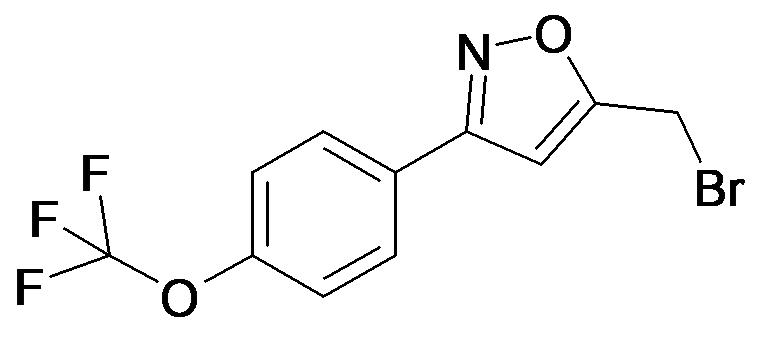 5-Bromomethyl-3-(4-trifluoromethoxy-phenyl)-isoxazole
