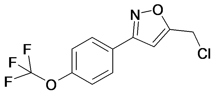 5-Chloromethyl-3-(4-trifluoromethoxy-phenyl)-isoxazole
