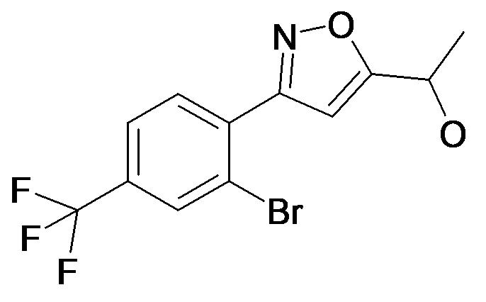 1-[3-(2-Bromo-4-trifluoromethyl-phenyl)-isoxazol-5-yl]-ethanol