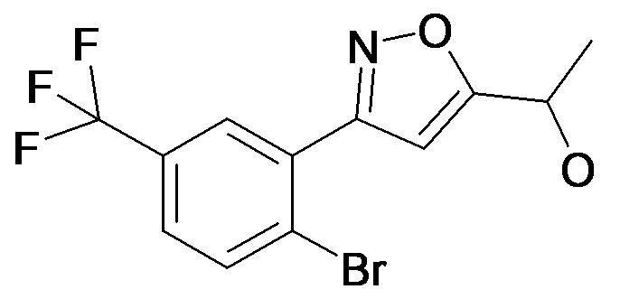 1-[3-(2-Bromo-5-trifluoromethyl-phenyl)-isoxazol-5-yl]-ethanol