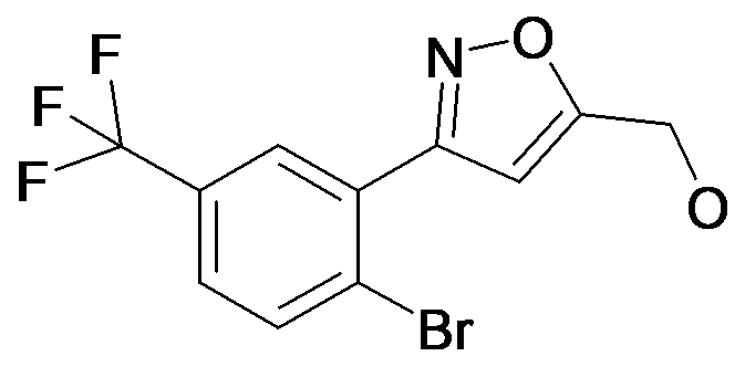 [3-(2-Bromo-5-trifluoromethyl-phenyl)-isoxazol-5-yl]-methanol