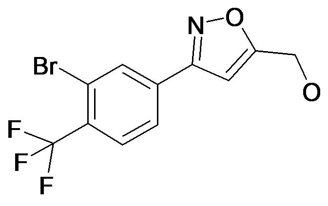 [3-(3-Bromo-4-trifluoromethyl-phenyl)-isoxazol-5-yl]-methanol