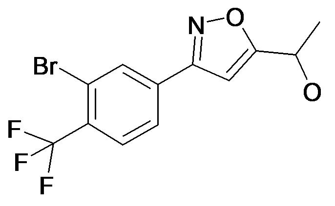 1-[3-(3-Bromo-4-trifluoromethyl-phenyl)-isoxazol-5-yl]-ethanol