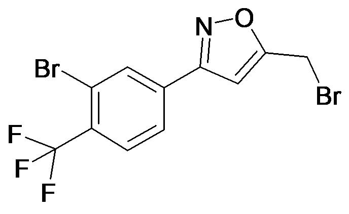5-Bromomethyl-3-(3-bromo-4-trifluoromethyl-phenyl)-isoxazole