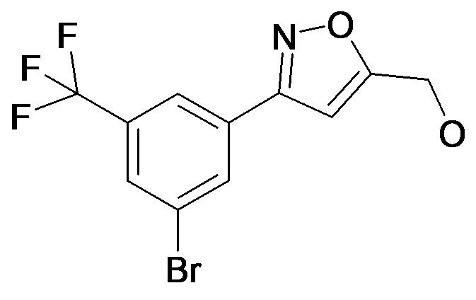 [3-(3-Bromo-5-trifluoromethyl-phenyl)-isoxazol-5-yl]-methanol