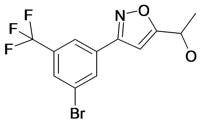 1-[3-(3-Bromo-5-trifluoromethyl-phenyl)-isoxazol-5-yl]-ethanol