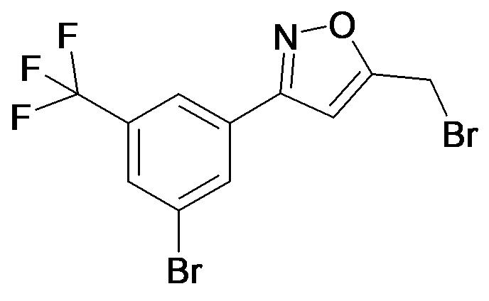 5-Bromomethyl-3-(3-bromo-5-trifluoromethyl-phenyl)-isoxazole
