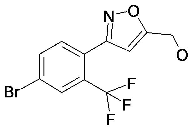 [3-(4-Bromo-2-trifluoromethyl-phenyl)-isoxazol-5-yl]-methanol