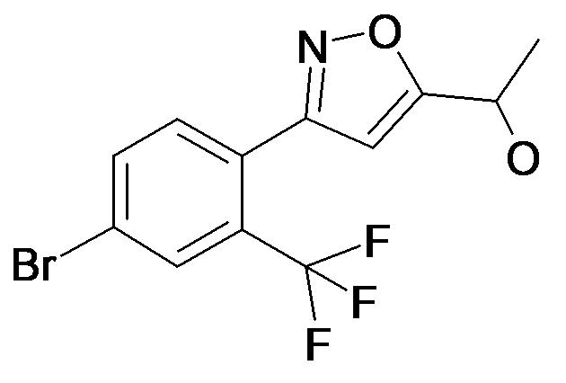 1-[3-(4-Bromo-2-trifluoromethyl-phenyl)-isoxazol-5-yl]-ethanol