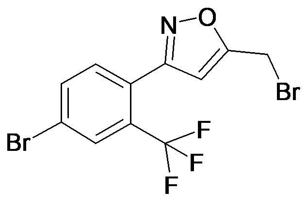 5-Bromomethyl-3-(4-bromo-2-trifluoromethyl-phenyl)-isoxazole